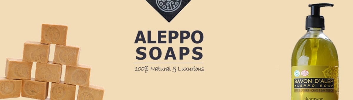 100% Natural Soaps from Aleppo, Syria